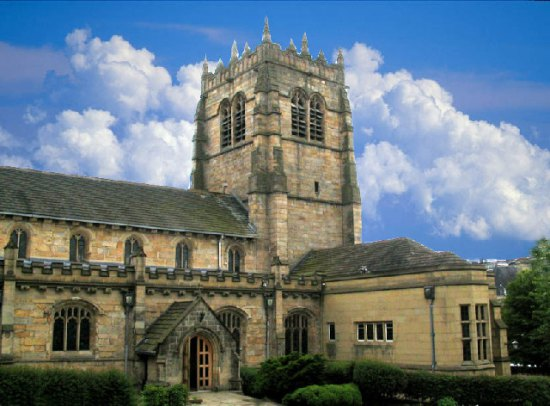 Bradford Cathedral (Photo by Mick Melvin from Wikimedia Commons)